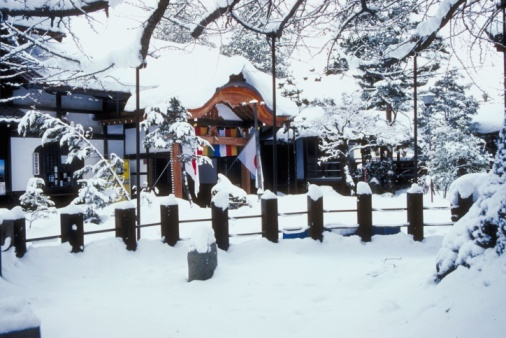 Takayama City「Building with flags in Takayama, Gifu, Japan, Asia」:スマホ壁紙(16)