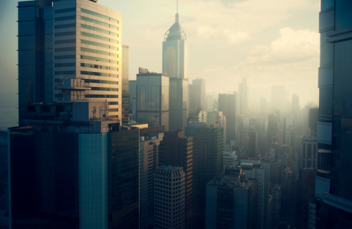 Skyscraper「Hong Kong skyline」:スマホ壁紙(2)
