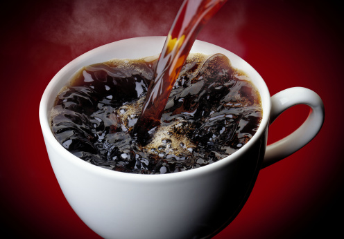 Pouring「Coffee pouring into cup」:スマホ壁紙(19)