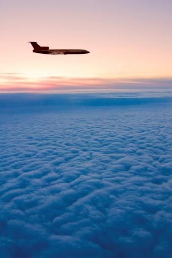 Airplane「Sunrise flight」:スマホ壁紙(5)