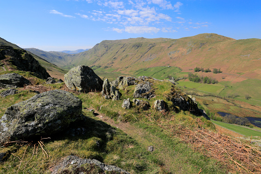 Color Image「View over Place fell, Martindale, Lake District National Park」:スマホ壁紙(5)