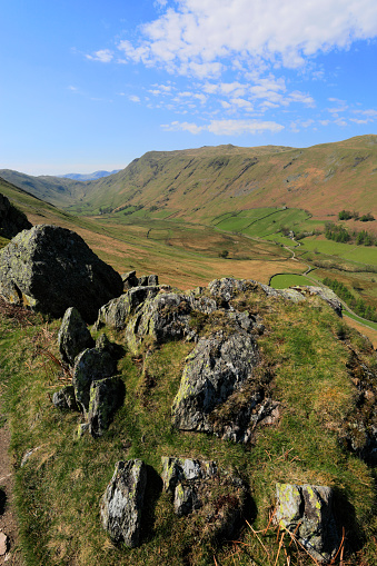 Color Image「View over Place fell, Martindale, Lake District National Park」:スマホ壁紙(18)