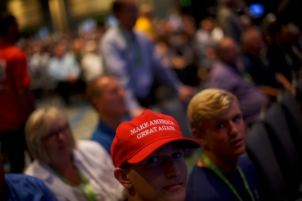 MAGA「President Trump Addresses National Electrical Contractors Convention」:写真・画像(9)[壁紙.com]