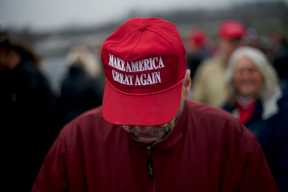 MAGA「President Trump Holds Campaign Rally In Hershey, Pennsylvania」:写真・画像(7)[壁紙.com]