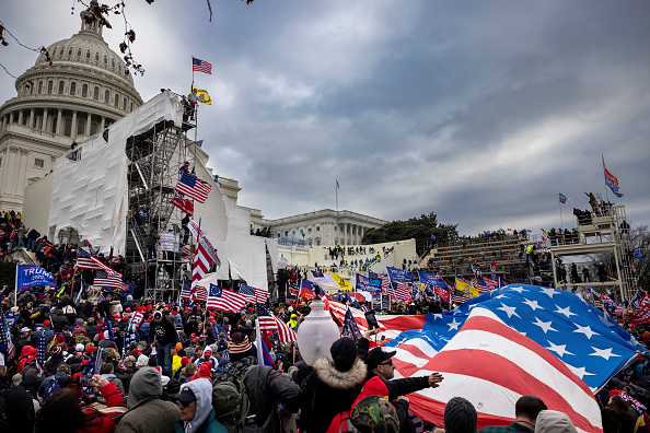 "Riot「Trump Supporters Hold ""Stop The Steal"" Rally In DC Amid Ratification Of Presidential Election」:写真・画像(10)[壁紙.com]"