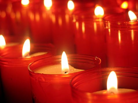 Religious Mass「candle lights」:スマホ壁紙(19)