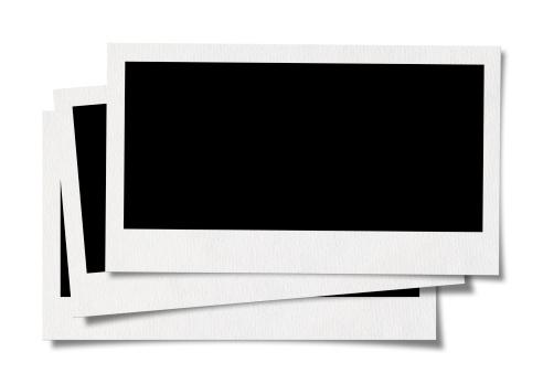 Black And White Instant Print「Blank photo」:スマホ壁紙(9)