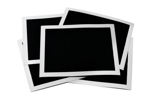 Black And White Instant Print「Blank photos」:スマホ壁紙(13)