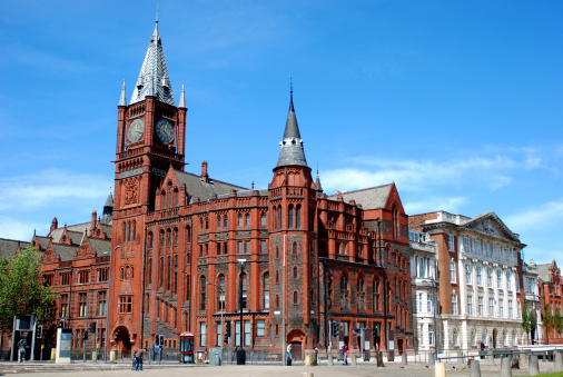 Brick Wall「The University of Liverpool Victoria Building」:スマホ壁紙(8)