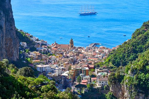 UNESCO「city of Amalfi at the Amalfi coast」:スマホ壁紙(7)