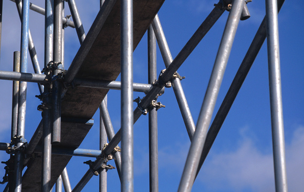 Construction Equipment「Abstract image of scaffoldings」:写真・画像(18)[壁紙.com]