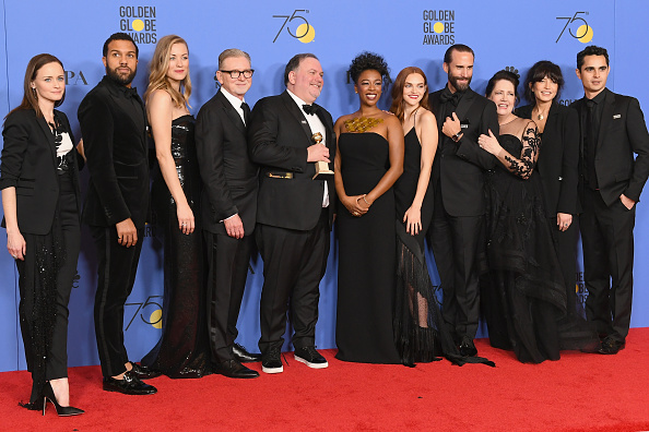 Black Color「75th Annual Golden Globe Awards - Press Room」:写真・画像(7)[壁紙.com]