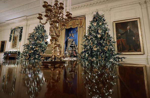 マツ科「Holiday Decorations On Display At The White House」:写真・画像(5)[壁紙.com]