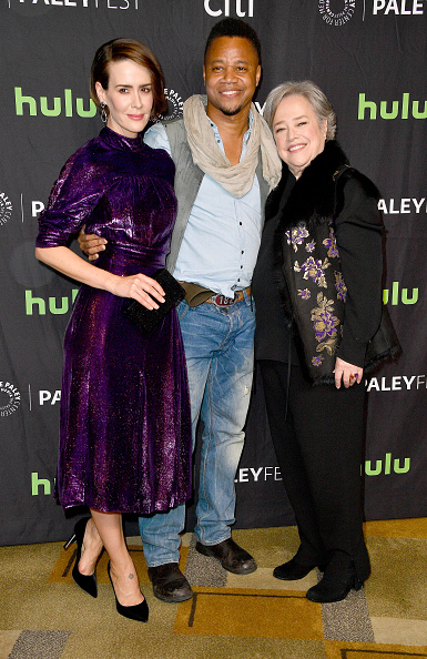 "Paley Center for Media「The Paley Center For Media's 34th Annual PaleyFest Los Angeles - ""American Horror Story: Roanoke"" - Arrivals」:写真・画像(8)[壁紙.com]"