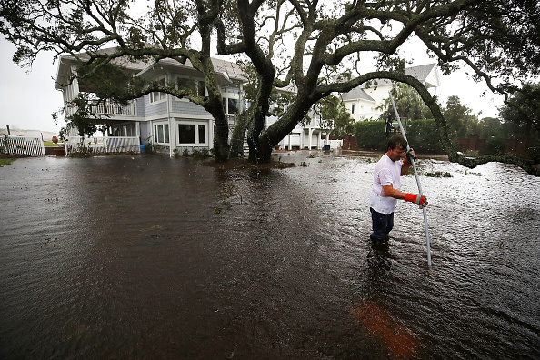 Hurricane - Storm「Carolinas' Coast Line Recovers From Hurricane Florence, As Storm Continues To Pour Heavy Rain On The States」:写真・画像(1)[壁紙.com]