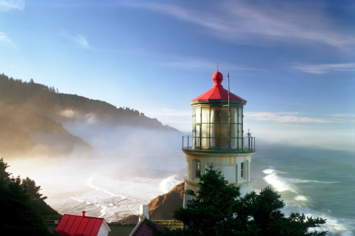 Beacon「Heceta Head Lighthouse」:スマホ壁紙(9)