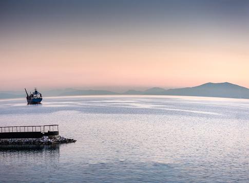 Aegean Sea「Sunset in Volos Greece」:スマホ壁紙(13)