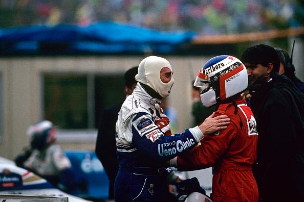 Japanese Formula One Grand Prix「Nigel Mansell, Jean Alesi, Grand Prix Of Japan」:写真・画像(11)[壁紙.com]