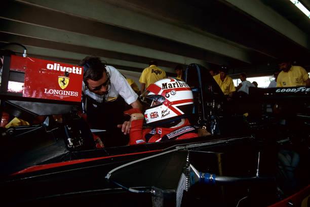 ナイジェル・マンセル「Nigel Mansell, Grand Prix Of Mexico」:写真・画像(9)[壁紙.com]