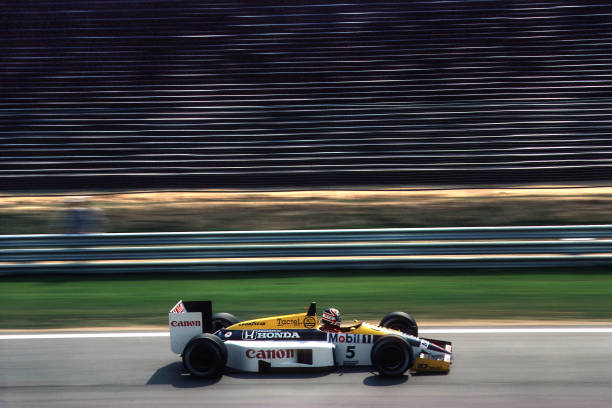 Formula One Racing「Nigel Mansell, Grand Prix Of Hungary」:写真・画像(16)[壁紙.com]