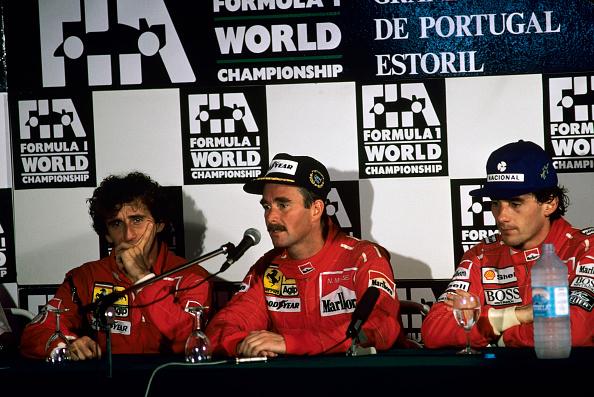 1990-1999「Nigel Mansell, Alain Prost, Ayrton Senna, Grand Prix Of Portugal」:写真・画像(17)[壁紙.com]