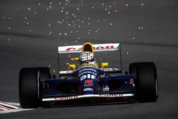 ナイジェル・マンセル「Nigel Mansell, Grand Prix Of Belgium」:写真・画像(10)[壁紙.com]