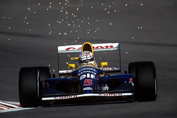 ナイジェル・マンセル「Nigel Mansell, Grand Prix of Belgium」:写真・画像(19)[壁紙.com]