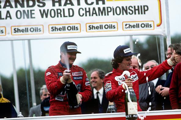 ナイジェル・マンセル「Mansell & Prost At Grand Prix Of Europe」:写真・画像(18)[壁紙.com]