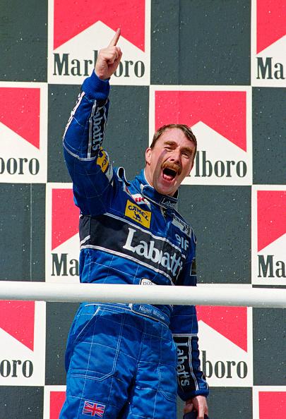 ハンガリーF1グランプリ「Nigel Mansell - Hungarian Gand Prix 1992」:写真・画像(11)[壁紙.com]