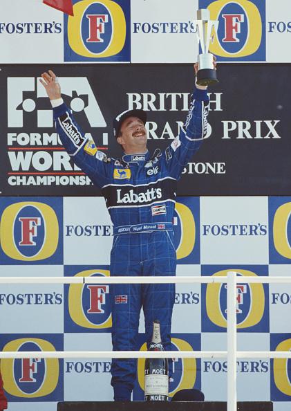 ナイジェル・マンセル「Grand Prix of Great Britain」:写真・画像(4)[壁紙.com]