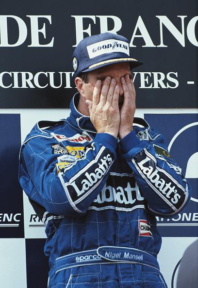 ナイジェル・マンセル「Grand Prix of France」:写真・画像(15)[壁紙.com]