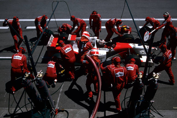 Pit Stop「Nigel Mansell, Grand Prix Of Spain」:写真・画像(12)[壁紙.com]