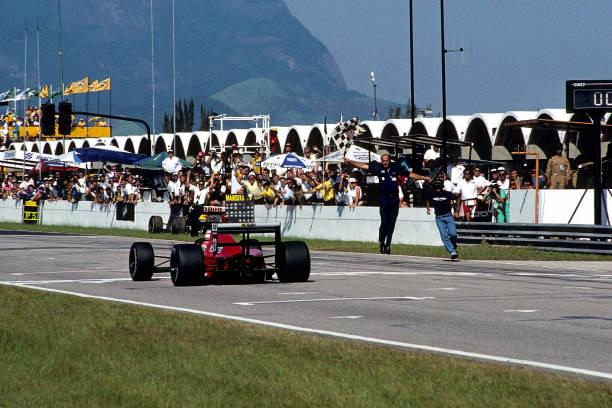 Grand Prix Motor Racing「Nigel Mansell, Cesare Fiorio, Grand Prix Of Brazil」:写真・画像(0)[壁紙.com]