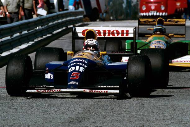 ナイジェル・マンセル「Nigel Mansell, Michael Schumacher, Grand Prix Of Portugal」:写真・画像(15)[壁紙.com]