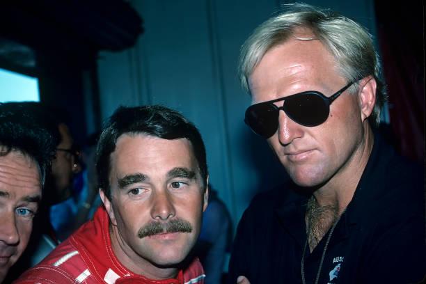 ナイジェル・マンセル「Nigel Mansell, Greg Norman, Grand Prix Of Great Britain」:写真・画像(12)[壁紙.com]