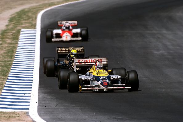 ナイジェル・マンセル「Nigel Mansell, Ayrton Senna, Alain Prost, Grand Prix Of Spain」:写真・画像(2)[壁紙.com]