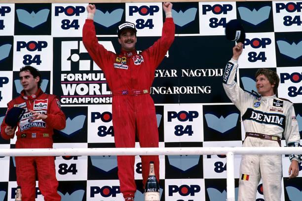 ハンガリーF1グランプリ「Nigel Mansell, Ayrton Senna, Thierry Boutsen, Grand Prix Of Hungary」:写真・画像(5)[壁紙.com]