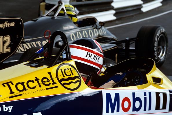 ナイジェル・マンセル「Nigel Mansell, Ayrton Senna, Grand Prix Of Europe」:写真・画像(7)[壁紙.com]