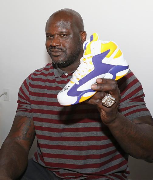 靴「Reebok Classic And Shaquille O'Neal Launch The New Shaq Attaq x Sneaker Politics」:写真・画像(5)[壁紙.com]