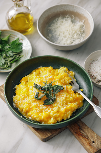 Recipe「Creamy Baked Pumpkin Risotto」:スマホ壁紙(1)