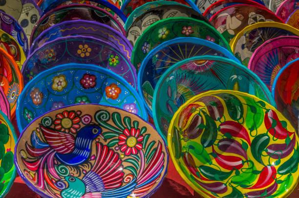 Local plates for sale at historic Mayan Chichen Itza, Puuc Region, Yucatan, Mexico:スマホ壁紙(壁紙.com)