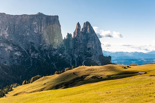 Italy「Italy, South Tyrol, Seiser Alm, Schlern」:スマホ壁紙(13)