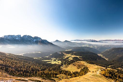 Pennine Alps「Italy, South Tyrol, Latemar, Schwarzhorn, Weisshorn」:スマホ壁紙(18)