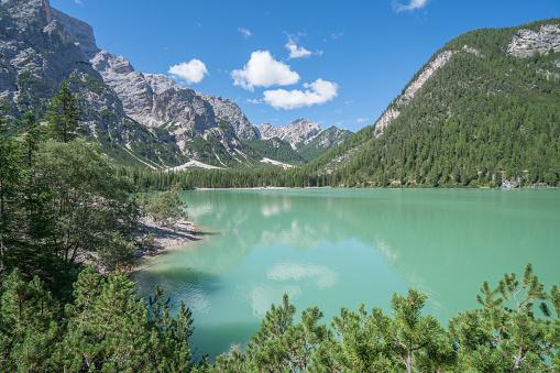 Alto Adige - Italy「Italy, South Tyrol, Dolomites, Prags, Braies, Pragser Wildsee」:スマホ壁紙(9)