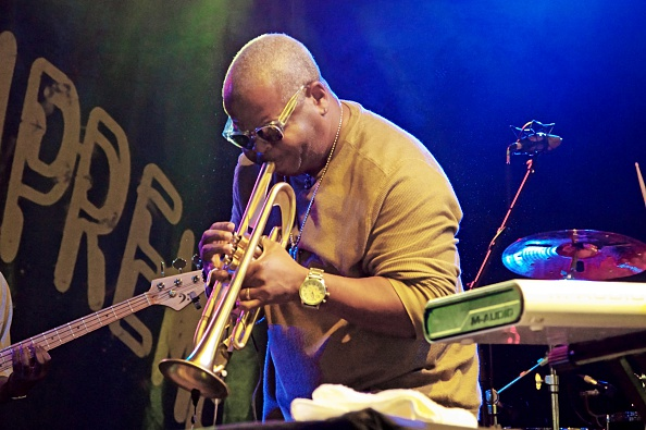 トランペット「Terence Blanchard, Love Supreme Jazz Festival, Glynde Place, East Sussex, 2015」:写真・画像(5)[壁紙.com]
