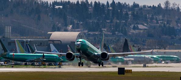 全景「Boeing Test Flights Continue For MAX Planes Before Shipment To Customers」:写真・画像(0)[壁紙.com]