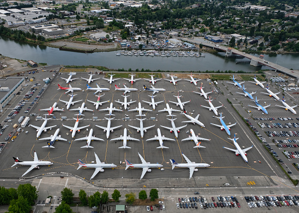 Air Vehicle「Grounding Of Boeing 737 MAX Planes Extended As New Flaw In Software Is Found」:写真・画像(1)[壁紙.com]