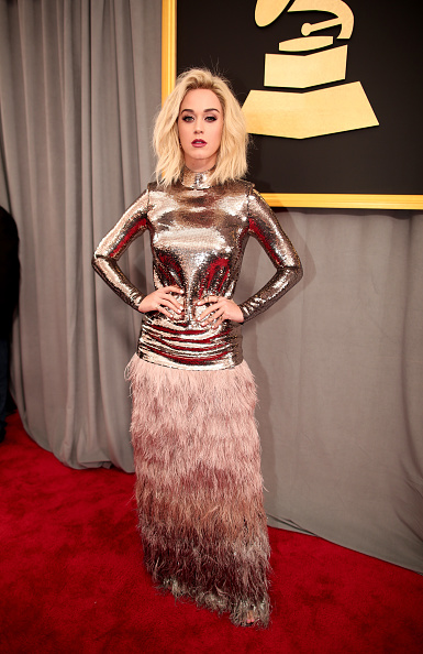 グラミー賞「The 59th GRAMMY Awards - Red Carpet」:写真・画像(12)[壁紙.com]