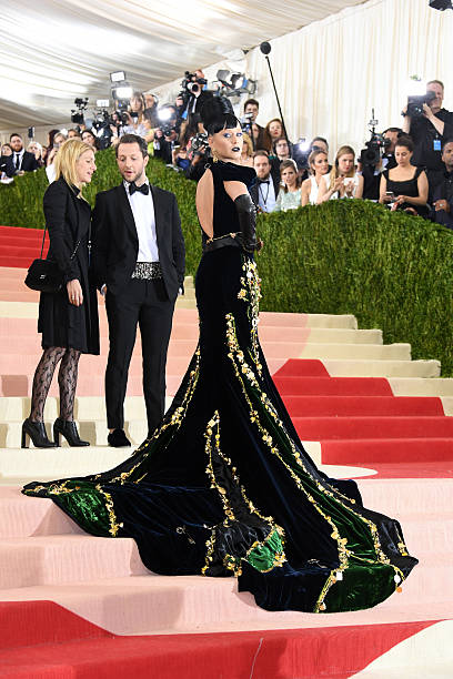 """""""Manus x Machina: Fashion In An Age Of Technology"""" Costume Institute Gala - Arrivals:ニュース(壁紙.com)"""