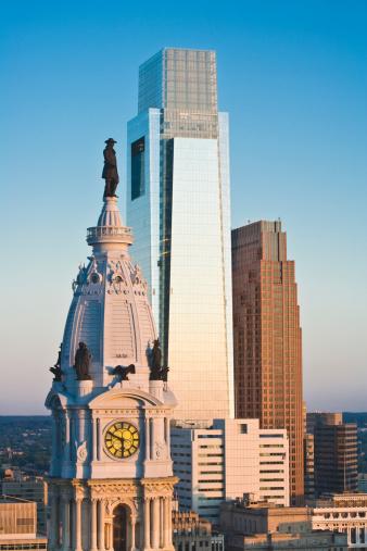 Government Building「Philadelphia, PA Skyline」:スマホ壁紙(4)